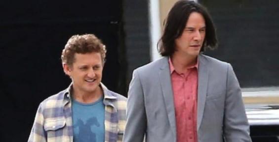 В Сети появился трейлер новой части фильма «Билл и Тед»
