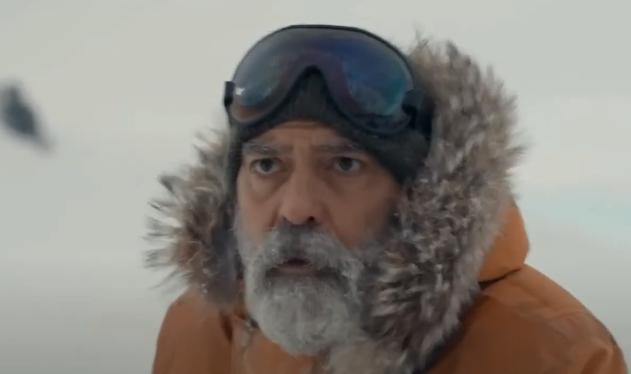 Вышел тизер новой драмы Джорджа Клуни «Полночное небо»